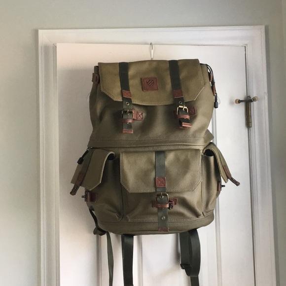 b16ad805f5 langly Handbags - olive Green Langly Camera bag Backpack
